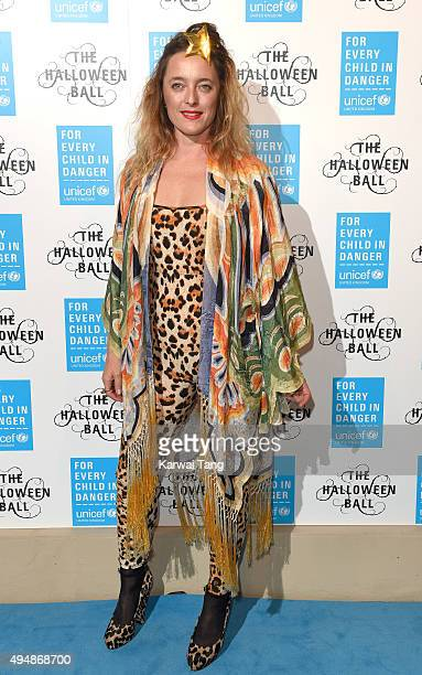 Alice Temperley attends the UNICEF Halloween Ball at One Mayfair on October 29 2015 in London England