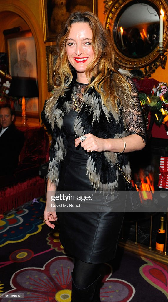 Alice Temperley attends Veuve Clicquot Style Party at Annabel's on November 26, 2013 in London, England.