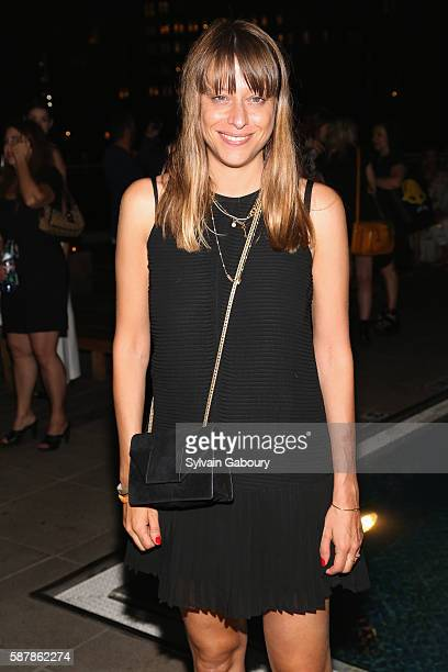 Alice Winocour attends The Cinema Society Chopard with Line 39 and Qui Host the After Party for IFC Films' 'Disorder' at The Jimmy at the James Hotel...
