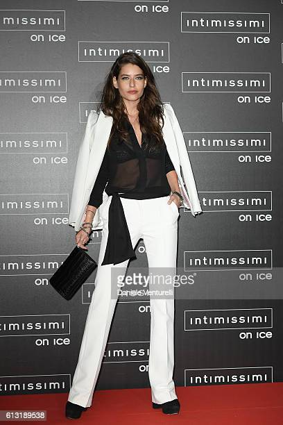 AliceAlexandra Peneaca attends Intimissimi On Ice at Arena on October 7 2016 in Verona Italy