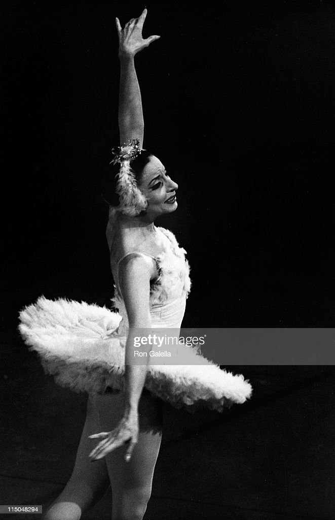 Alicia Alonso attends Gala Performance of the American Ballet Theater on July 28, 1975 at the New York State Theater in New York City.