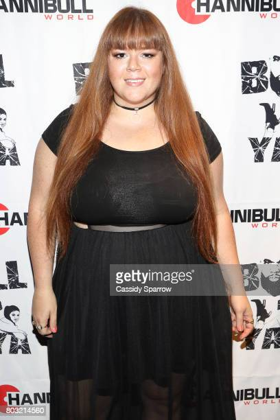 Alicia Angel attends The Film Review Comedy Show at Helen Mills Theater on June 28 2017 in New York City