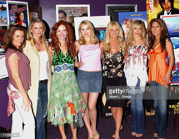 Alicia Arden Kylie Bax Phoebe Price Alana Curry Katie Lohmann Camille Anderson and Kerri Kasem