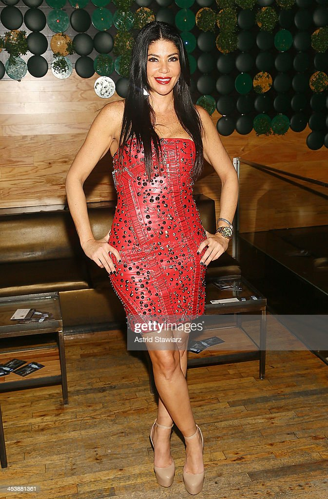 Alicia DiMichele Garofalo attends 'Mob Wives' Season 4 premiere at Greenhouse on December 5 2013 in New York City