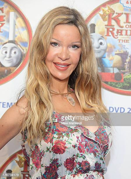 Alicia Douvall attends VIP Screening of Thomas Friends King Of The Railway at Vue Leicester Square on August 18 2013 in London England