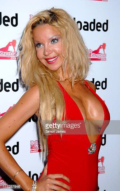 Alicia Douvall during Loaded's Sexiest Singles Party August 1 2006 at The Play Room in London Great Britain
