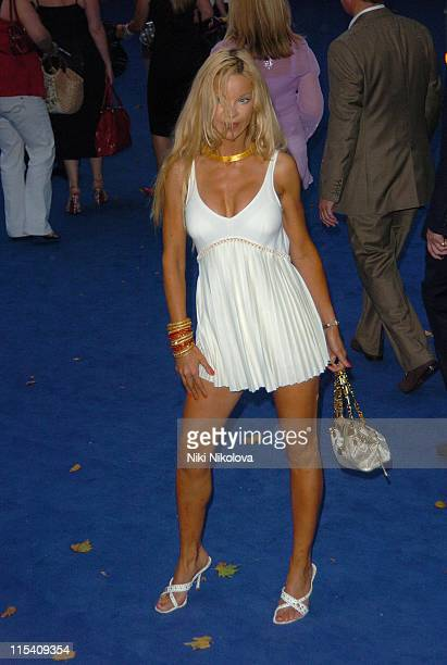 Alicia Douvall during 'Miami Vice' London Premiere Outside Arrivals at Odeon Leicester Square in London Great Britain
