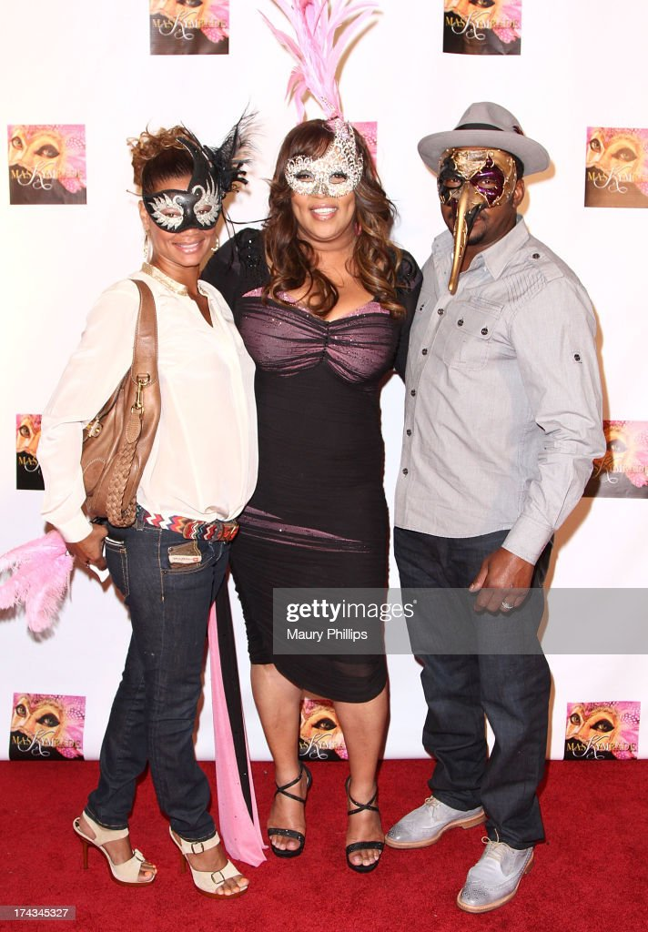 Alicia Etheredge, <a gi-track='captionPersonalityLinkClicked' href=/galleries/search?phrase=Kym+Whitley&family=editorial&specificpeople=242929 ng-click='$event.stopPropagation()'>Kym Whitley</a> and Bobby Brown arrive at <a gi-track='captionPersonalityLinkClicked' href=/galleries/search?phrase=Kym+Whitley&family=editorial&specificpeople=242929 ng-click='$event.stopPropagation()'>Kym Whitley</a>'s 40th Birthday Celebration at Rain Nightclub on July 23, 2013 in Studio City, California.