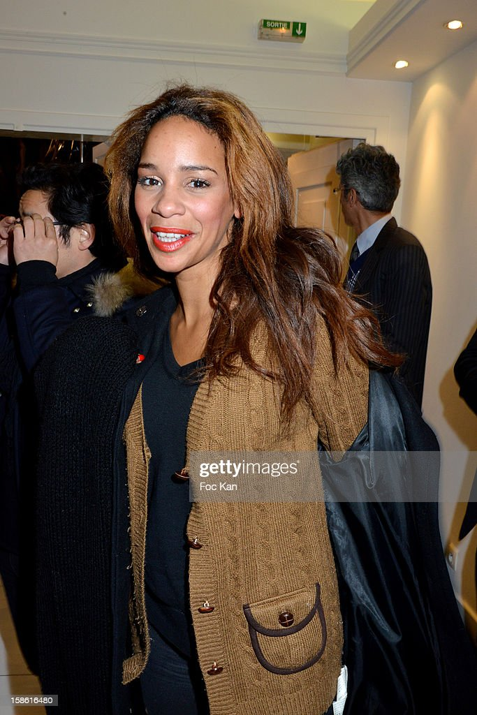 Alicia Fall attends the 'Starter TV' Launch Party at Espace Brey on December 20, 2012 in Paris, France.