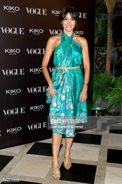 Alicia Fernandez attends 'Kiko Milano Anniversary' photocall at La Habanera on May 30 2017 in Madrid Spain