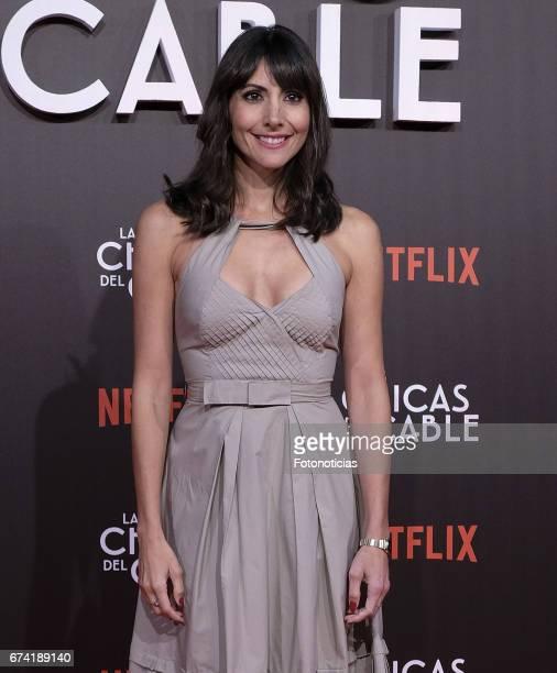 Alicia Fernandez attends the 'Las Chicas del Cable' Netflix Tv Series premiere at Callao Cinema on April 27 2017 in Madrid Spain