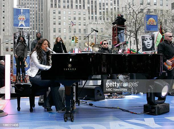 TODAY Alicia Keyes Air Date Pictured Musical guest Alicia Keyes performs on the Plaza to kick off its 'Toyota Summer Concert Series' on NBC News'...