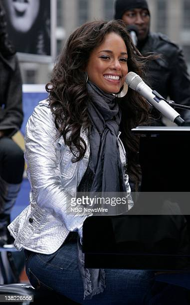 TODAY Alicia Keys Air Date Pictured Musical guest Alicia Keys performs on the Plaza to kick off its 'Toyota Summer Concert Series' on NBC News'...