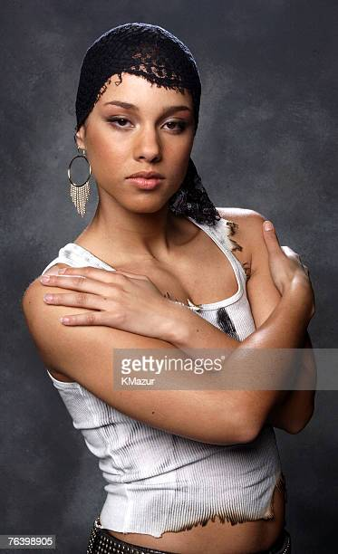 Alicia Keys Alicia Keys by Kevin Mazur Alicia Keys Self Assignment October 7 2001 New York New York