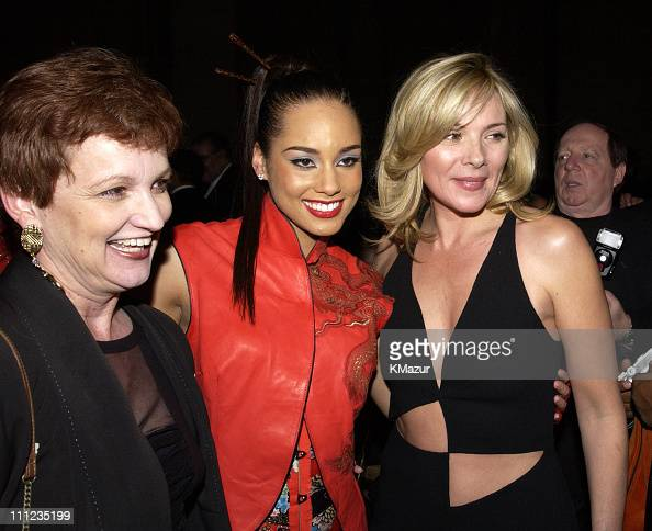 Alicia Keys And Mother Terri Augello With Kim Cattrall Wireimage