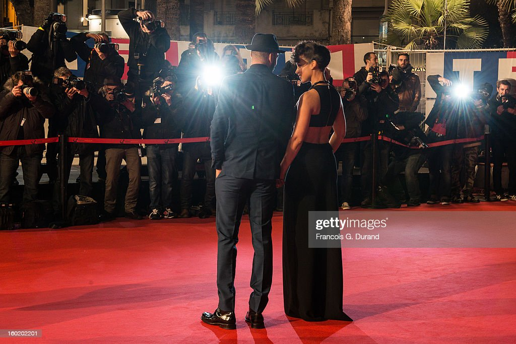 Alicia Keys and Swizz Beatz attend the NRJ Music Awards 2013 at Palais des Festivals on January 26, 2013 in Cannes, France.