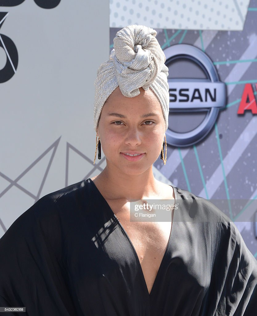 <a gi-track='captionPersonalityLinkClicked' href=/galleries/search?phrase=Alicia+Keys&family=editorial&specificpeople=169877 ng-click='$event.stopPropagation()'>Alicia Keys</a> attends the 2016 BET Awards at Microsoft Theater on June 26, 2016 in Los Angeles, California.