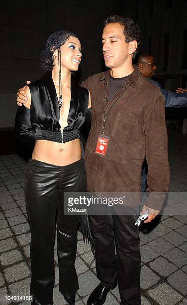 Alicia Keys during 2001 MTV Video Music Awards Audience and Backstage at The Metropolitan Opera House at Lincoln Center in New York City New York...