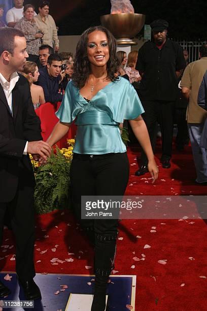 Alicia Keys during 2004 Billboard Latin Music Awards Polaroid's 'Polarazzi' Red Carpet Arrivals at The Miami Arena in Miami FL United States