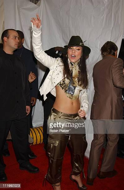 Alicia Keys during BMG Post Grammy Party at Amber Ryan Gotham Hall in New York NY United States