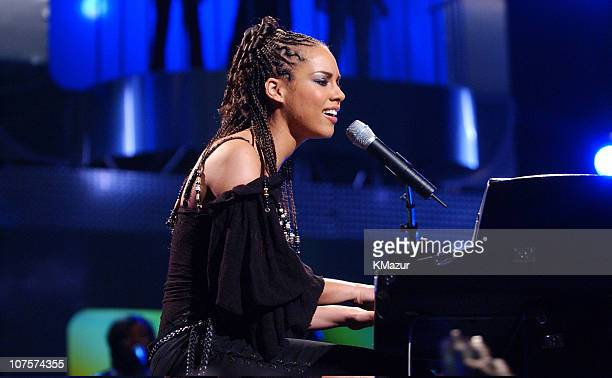 Alicia Keys during Teen People's Takes A Look at New Talent at Hammerstein Ballroom in New York City New York
