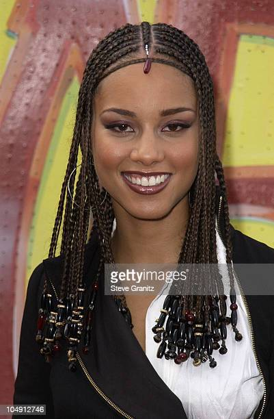 Alicia Keys during The 7th Annual Soul Train Lady of Soul Awards Arrivals at Santa Monica Civic Auditorium in Santa Monica California United States