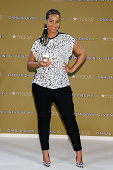 Alicia Keys launches the fragrance Dahlia Divin by Givency at Macy's Herald Square on September 2 2014 in New York City
