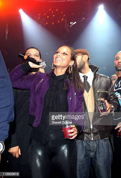 Alicia Keys performs at M2 Ultra Lounge on December 18 2009 in New York City