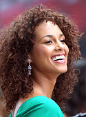 Alicia Keys performs on ABC's 'Good Morning America' at ABC Studios on June 28 2011 in New York City