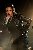 Alicia Keys performs on stage at Gelredome on May 8 2010 in Arnhem Netherlands