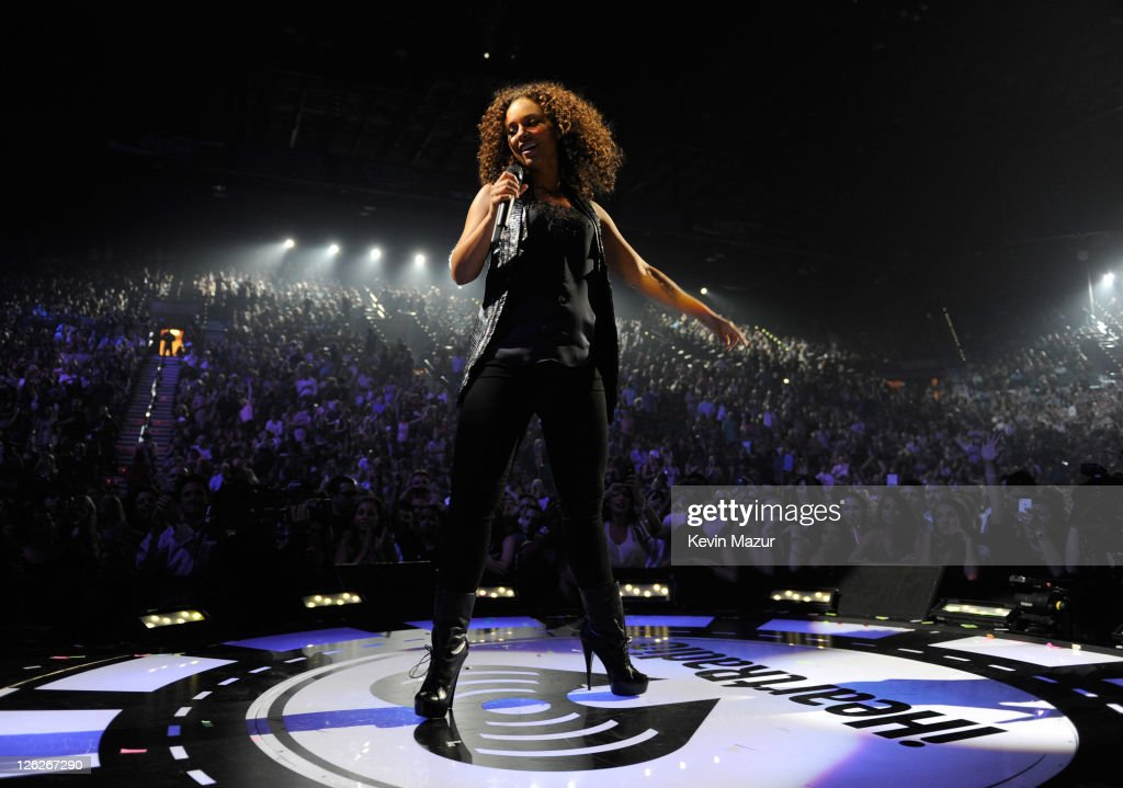 <a gi-track='captionPersonalityLinkClicked' href=/galleries/search?phrase=Alicia+Keys&family=editorial&specificpeople=169877 ng-click='$event.stopPropagation()'>Alicia Keys</a> performs onstage at the iHeartRadio Music Festival held at the MGM Grand Garden Arena on September 23, 2011 in Las Vegas, Nevada.