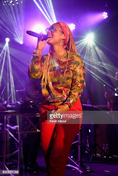 Alicia Keys performs onstage during Apollo in the Hamptons 2017 hosted by Ronald O Perelman at The Creeks on August 12 2017 in East Hampton New York