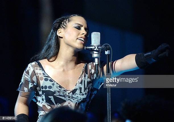 Alicia Keys performs