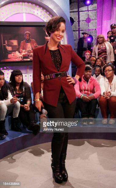Alicia Keys visits BET's '106 Park' at BET Studios on October 19 2012 in New York City