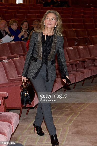 Alicia Koplowitz attends the CSIC 75th anniversary event on November 24 2014 in Madrid Spain