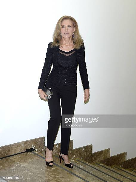 Alicia Koplowitz attends the 'Mariano de Cavia' 'Luca de Tena' and 'Mingote' Journalism Awards Dinner at Casa de ABC on December 10 2015 in Madrid...