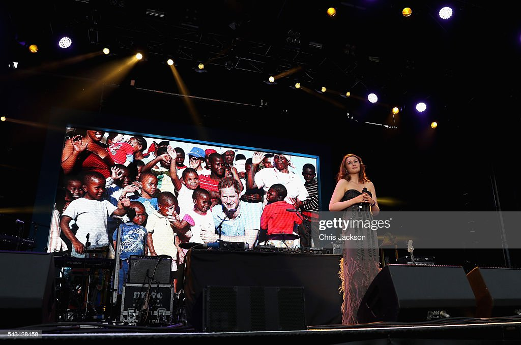 Alicia Lowes performs during the Sentebale Concert at Kensington Palace on June 28, 2016 in London, England. Sentebale was founded by Prince Harry and Prince Seeiso of Lesotho over ten years ago. It helps the vulnerable and HIV positive children of Lesotho and Botswana.