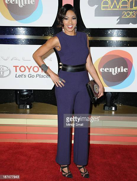 Alicia Quarles arrives at the Soul Train Awards 2013 at the Orleans Hotel Casino on November 8 2013 in Las Vegas Nevada