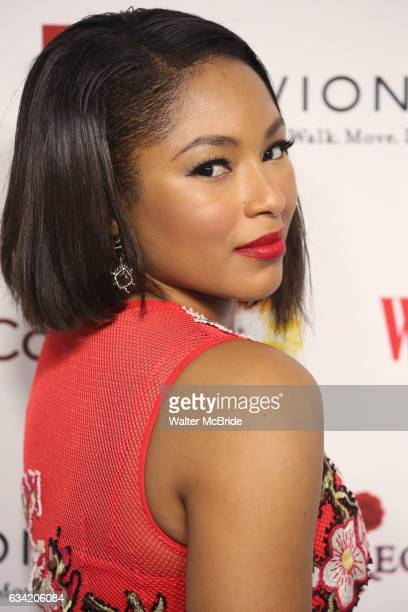 Alicia Quarles attends the 14th Annual Red Dress Awards presented by Woman's Day Magazine at Jazz at Lincoln Center Appel Room on February 7 2017 in...