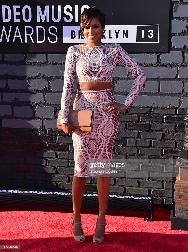 Alicia Quarles attends the 2013 MTV Video Music Awards at the Barclays Center on August 25, 2013 in the Brooklyn borough of New York City.