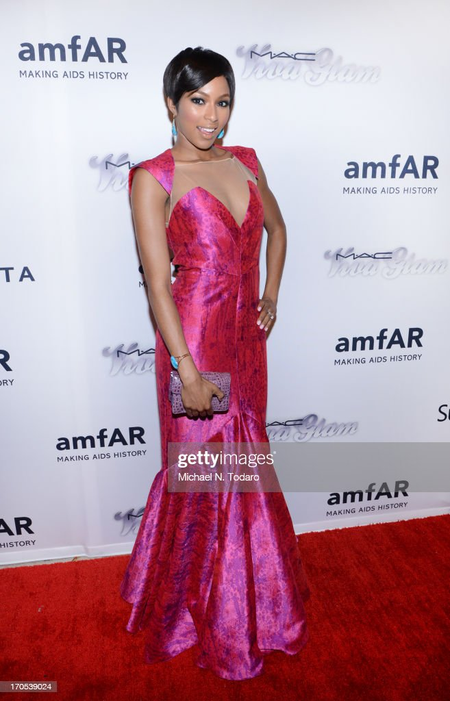 Alicia Quarles attends the 4th Annual amfAR Inspiration Gala New York at The Plaza Hotel on June 13, 2013 in New York City.