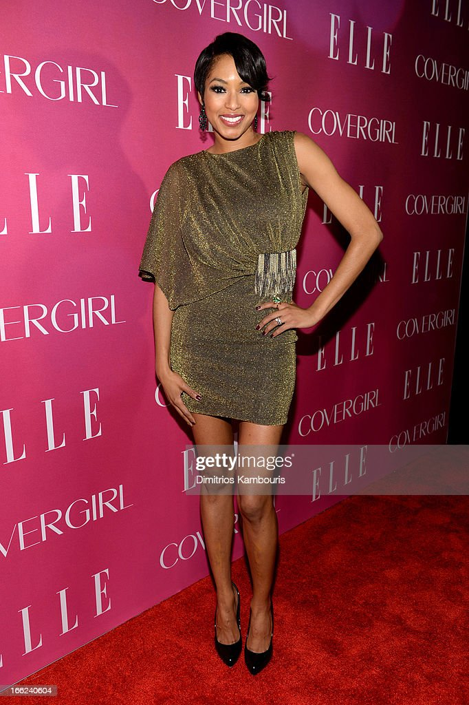 Alicia Quarles attends the 4th Annual ELLE Women in Music Celebration at The Edison Ballroom on April 10, 2013 in New York City.