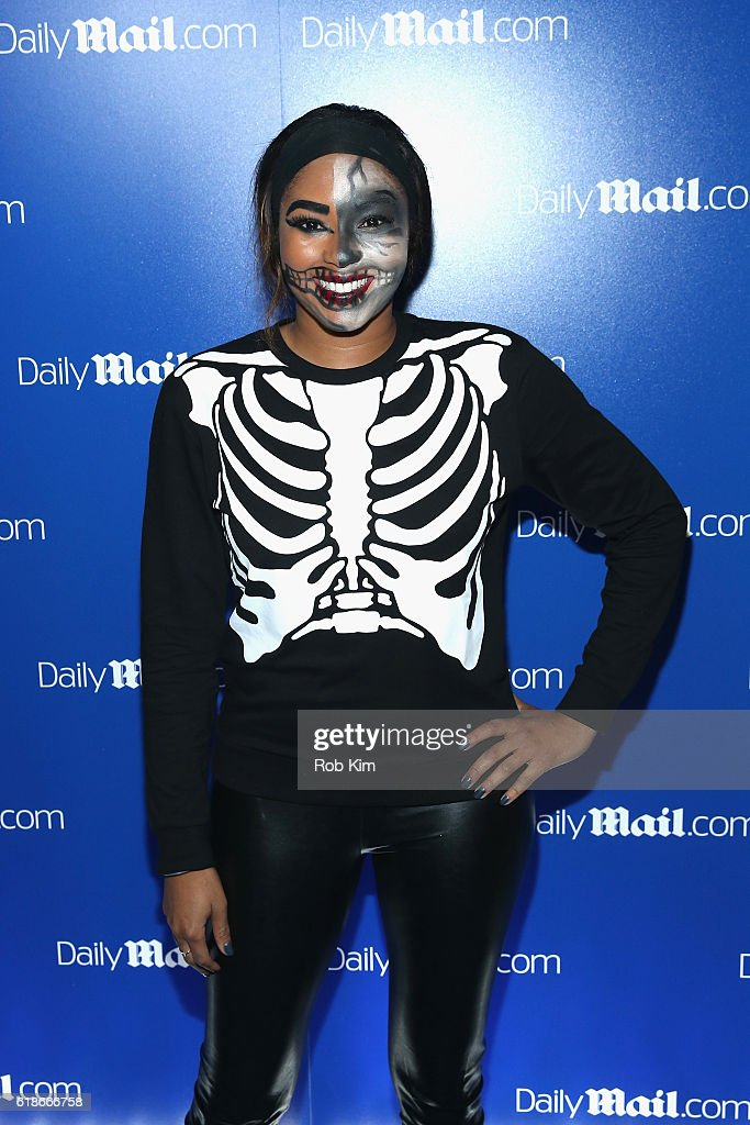 Alicia Quarles attends the DailyMail.com's Seriously Scary Halloween Party With Kesha on October 27, 2016 in New York City.