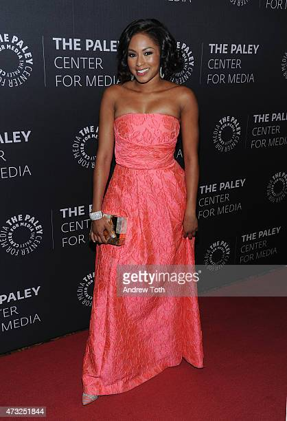 Alicia Quarles attends The Paley Center for Media hosts a Tribute to AfricanAmerican Achievements in Television at Cipriani Wall Street on May 13...