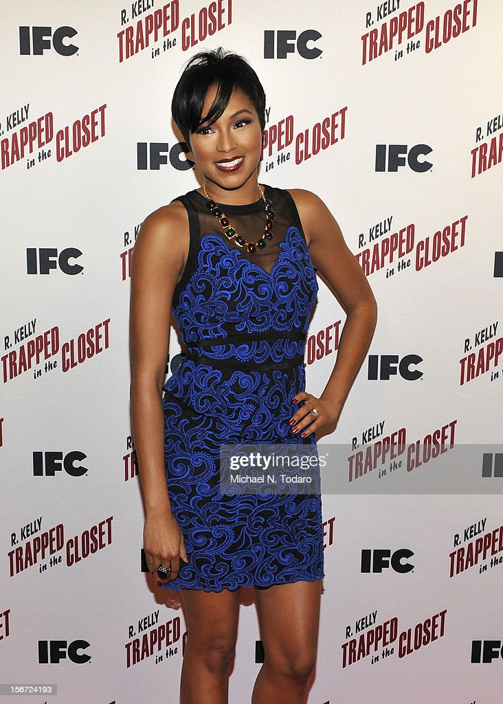 Alicia Quarles attends the 'Trapped In The Closet' screening at Sunshine Cinema on November 19, 2012 in New York City.
