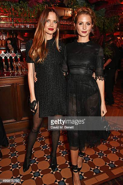 Alicia Rountree and Millie Mackintosh attend Charlotte Tilbury's naughty Christmas party celebrating the launch of Charlotte's new flagship beauty...