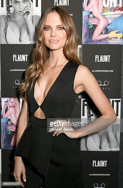 Alicia Rountree attends the Flaunt Magazine and Luisaviaroma celebrate the release of the CALIFUK issue during London Fashion Week at Tape London on...