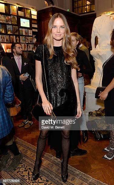 Alicia Rountree attends the 'Louis Vuitton Windows' book launch at Maison Assouline on November 18 2015 in London England