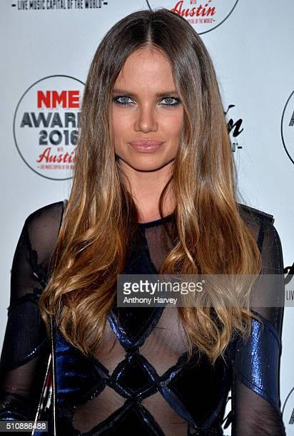Alicia Rountree attends the NME awards at O2 Academy Brixton on February 17 2016 in London England