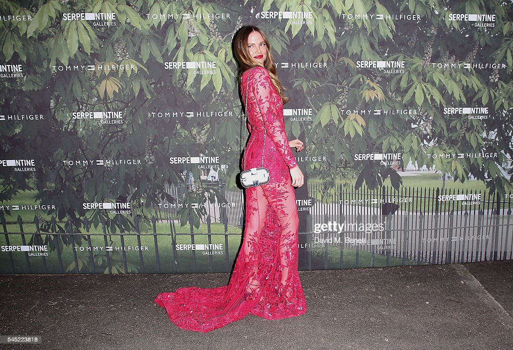 Alicia Rountree attends The Serpentine Summer Party Co-Hosted By Tommy Hilfiger at The Serpentine Gallery on July 6, 2016 in London, England.